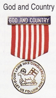 God and Country medal