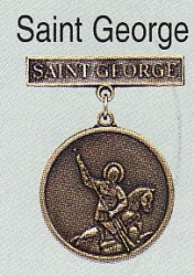 Saint George medal